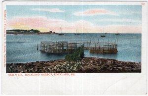 Rockland, Me, Fish Weird, Rockland Harbor