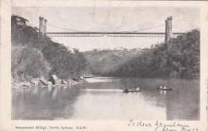 NORTH SYDNEY , Australia , 1926 ; Suspension Bridge