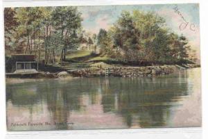 Broad Cove, Falmouth Foreside,  Maine PU-1909