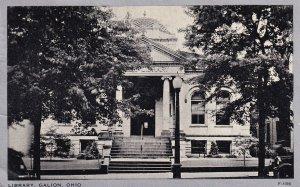 GALION, Ohio, PU-1939; LIbrary