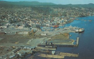NANAIMO, British Columbia, Canada, 50-60s; Air View