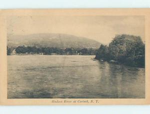 Divided-Back WATER SCENE Corinth New York NY hk2983