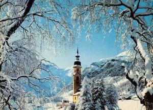 Giant Size Postcard Obernberg am Brenner, Austria in Winter, Snow OS93