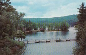 New Hampshire Lake Winnipesaukee Alton Bay Bridge At Sandy Point Beach
