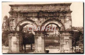 Old Postcard Old stones and old castles of Aunis and Saintonage Holy Roman Arch