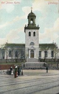 GOTEBORG , Sweden , 1900-10s ; Carl Johans Kyrka