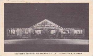 Indiana Osceola Scotties Sportmans Paradise 1951