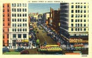 Market Street At Broad in Newark, New Jersey