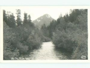 Pre-1950 rppc NICE VIEW Olympic National Park - Port Angeles & Seattle WA W0282