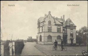 germany, AURICH, Kreis-Bahnhof, Railway Station (1908)