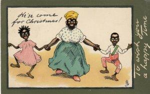 He'se come for CHRISTMAS! , 1903 ; TUCK 1819