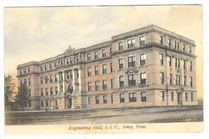 Exterior, Engineering Hall, I.S.C., Ames, Iowa,PU-1908