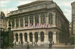 Old Postcard Lyon Theater