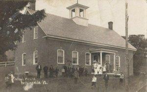 RP: PERKINSVILLE , Vermont, 1900-10s ;School & Students
