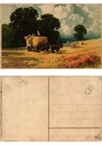 CPA Der Ernte Last und Freude Meissner & Buch Litho Serie 1522 (730408)