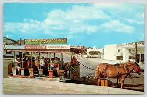 Cape May NJ~Victorian Village Transit Co~Horse Drawn Street Car~Kiddie Cars~1960