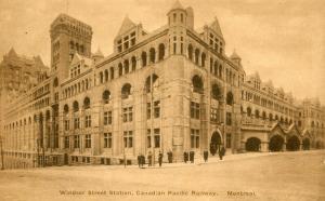 Canada - Montreal. Canadian National Railway, Windsor Street Station