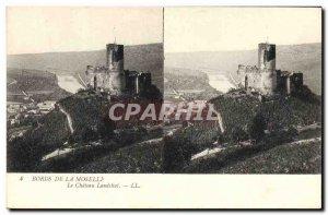 Old Postcard Moselle Edges Chateau Landshut