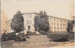 c1940s BOWLING GREEN STATE UNIVERSITY Ohio RPPC Postcard KOHL HALL