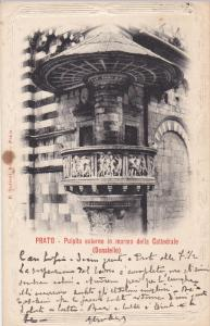 Pulpito Esterno in Marmo Della Cattedrale, PRATO, Toscana, Italy, 00-10's