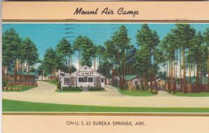 Arkansas Eureka Springs Mount Air Camp U S Highway 62 1958 sk2873