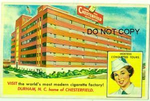 Chesterfield Cigarette Factory, Durham NC