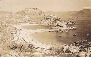 RP,Panorama De Caletilla Y Caleta, Acapulco, Gro, Mexico, PU-30-40s