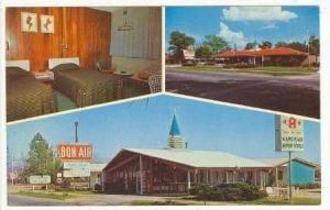 3Views, Bon-Air Motor Lodge, Allendale, South Carolina, 1940-60s