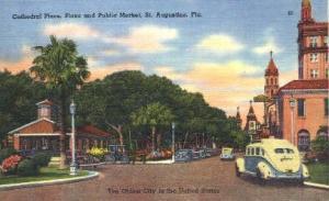 Plaza St Augustine FL Unused