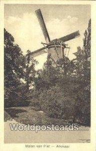 Molen van Piet Alkmaar Netherlands Unused