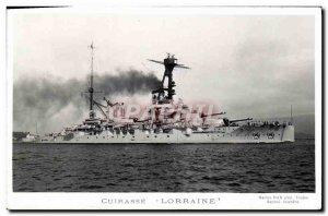 Postcard Old Boat Lorraine Breastplate