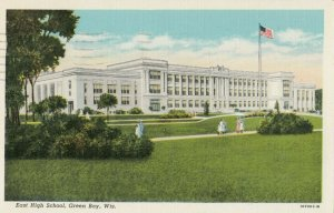 GREEN BAY , Wisconsin, 1946 ; East High School