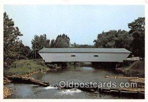 Old Covered Bridge Elizabethton, TN, USA Unused