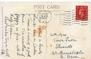 Genealogy Postcard - Yeo or Geo? - Shirwell - W. Barnstaple - Near Devon 622A