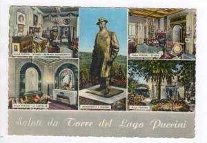 RP  5-views Salutations de Torre del Lago Puccini , PU 1960
