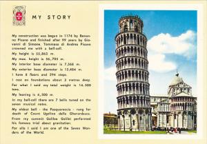 Italy Pisa The Leaning tower Story
