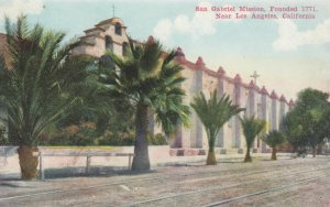 LOS ANGELES, California, 1900-10s; San Gabriel Mission
