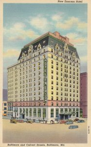 BALTIMORE , Maryland , 1930-40s ; New Emerson Hotel