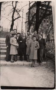 Romania social history photo postcard dated 1943 Brasov