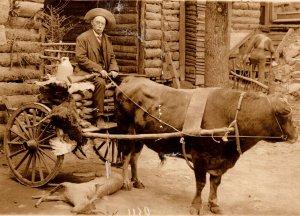 c1910 RPPC Willis Armsworth Mcleod Wild West Photographer Hot Springs Arkansas