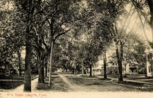 CT - Lakeville. Main Street