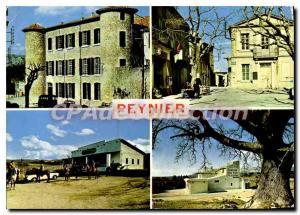 Modern Postcard Route Peynier Provence