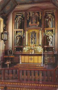 California San Gabriel Mission Altar Union 76 Card