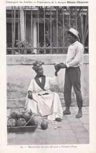 POINTE-A-PITRE, Guadeloupe, France, 1900-10s ; Marchande De Noix De Coco