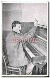 Postcard Old Soldier Gabriel Paradis blind reeducation has Reuilly