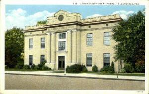 Leon County Court House Tallahassee FL Unused