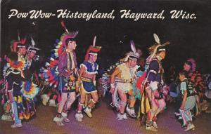 Indian Pow Wow Historyland Hayward Wisconsin 1967