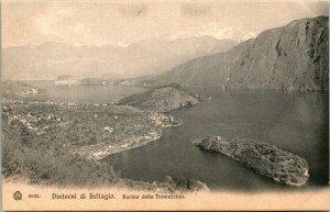 Vintage Postcard Italy -Dintorni di Bellagio - Bacino Della Tremezzina Photo Und