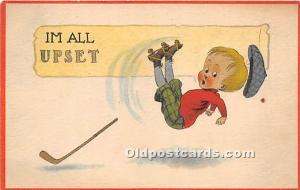 I'm All Upset Hockey 1914