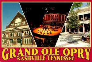 Tennessee Nashville Grand Ole Opry Multi View
